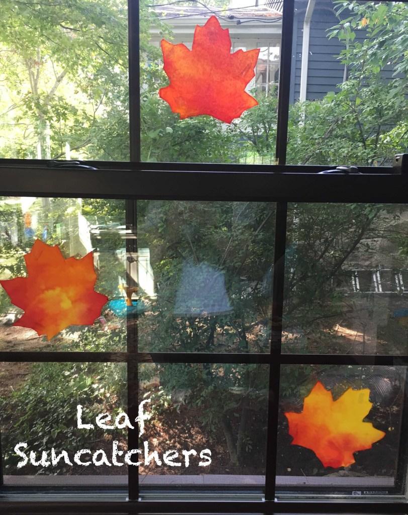 leaf-suncatchers