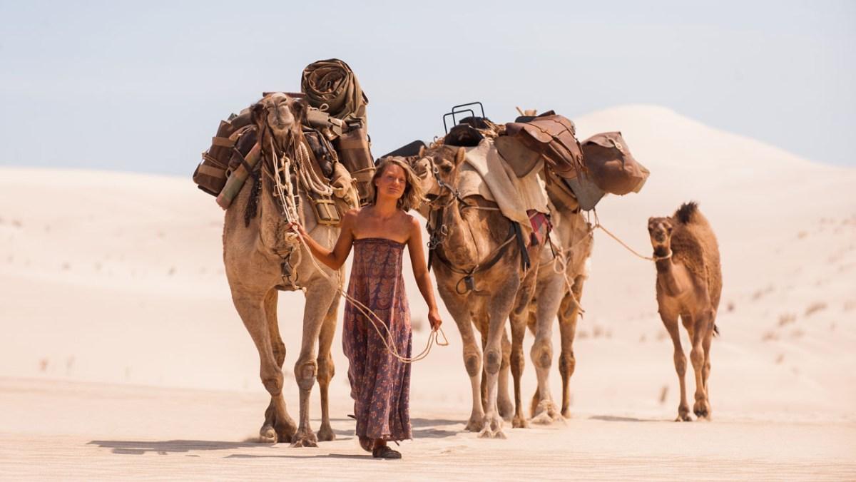 Tracks : la traversée du désert australien...