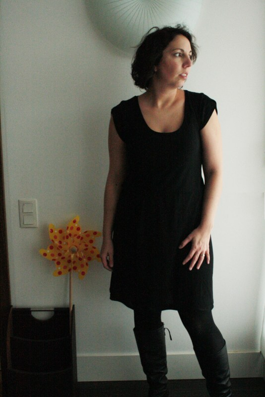 Ma petite robe noire Plantain Deer and Doe portée
