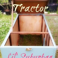 D.I.Y. - Our New Upcycled Chicken Tractor