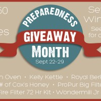 Prepared Bloggers Mega Giveaway!