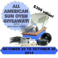 All American Sun Oven Giveaway - The Ultimate Sustainable Oven!