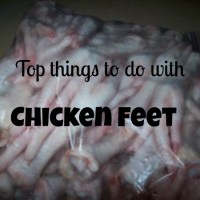 From The Farm Blog Hop & What To Do With Chicken Feet