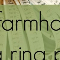 From The Farm Blog Hop & What To Do With Canning Jar Rings