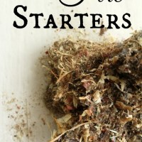 From The Farm Blog Hop &  DIY Fire Starters