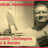 Kevin's Quality Clothespins Giveaway & Review