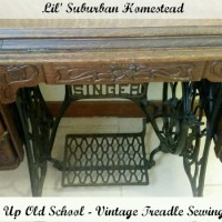 Kickin' It Up Old School - Vintage Treadle Sewing Machines