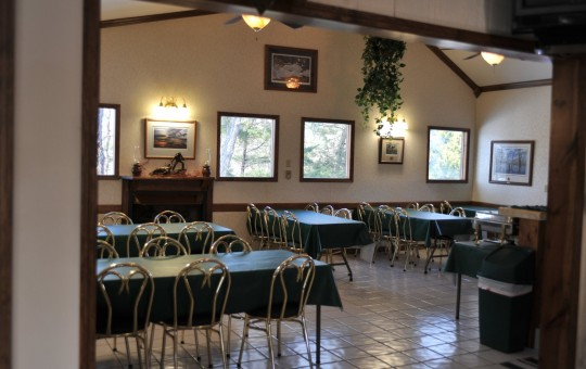 Hunting Lodge Dining Area