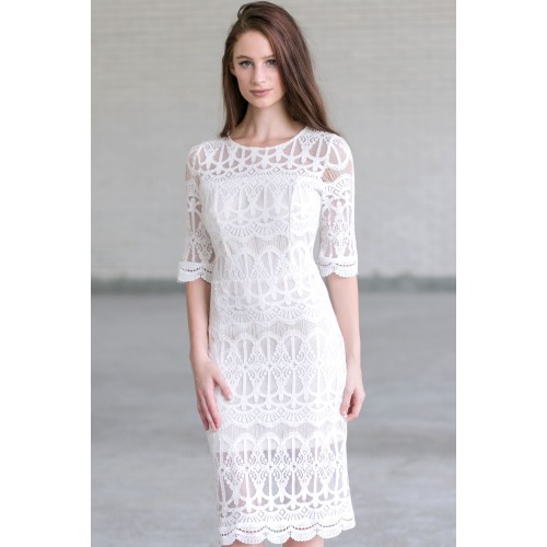 Medium Crop Of Bridal Shower Dress