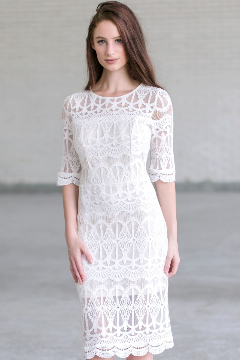 Large Of Ivory Lace Dress