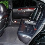 Executive Town Car Sedan Interior in CT photo