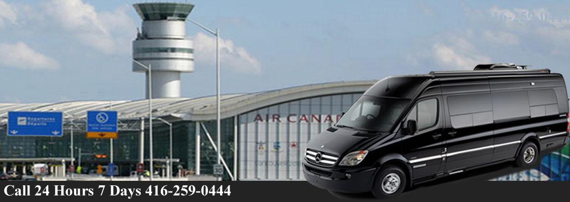 Toronto-airort-Limo-van