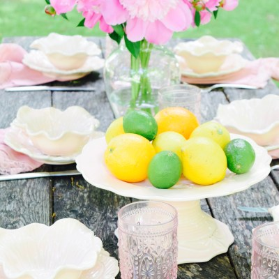 Pink Summer Table!