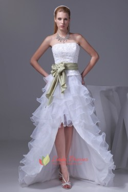 Charm Bow Strapless Layered Wedding Dresses Low Prom Dresses Strapless Layered Wedding Dresses Low Prom Dresses Low Prom Dresses Low Prom Dresses Grape