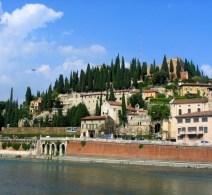 Overlooking the Adige River