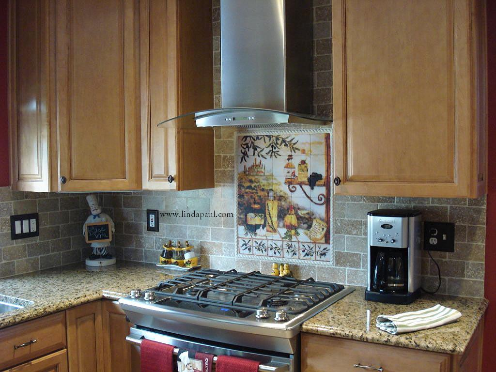 Tuscan design Kitchen Tile Backsplash backsplashes in kitchens