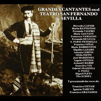 Grandes Cantantes en el Teatro San Fernando de Sevilla.