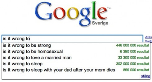 google-is-it-wrong-results