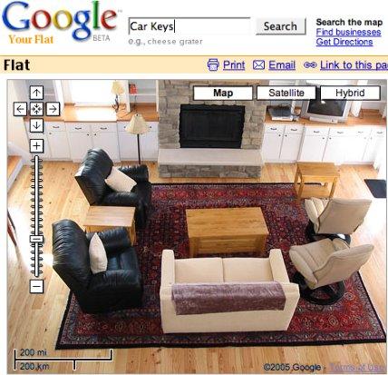 home.google.com or flat.google.com? Google getting really local.