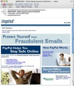 Paypal phishing – what a nerve
