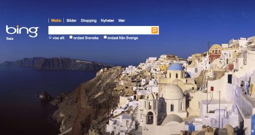 bing - ny söktjänst från Microsoft