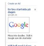 WTF? Google annonserar på Facebook