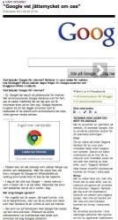 Intervju om Google i DN.se