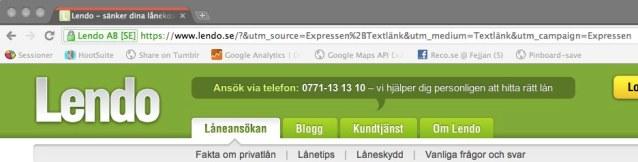 https://www.lendo.se/?&utm_source=Expressen%2BTextlänk&utm_medium=Textlänk&utm_campaign=Expressen