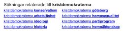 Kristdemokraterna-relaterade-2013-03-04