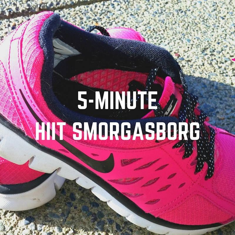 5-Minute Smorgasborg Workout