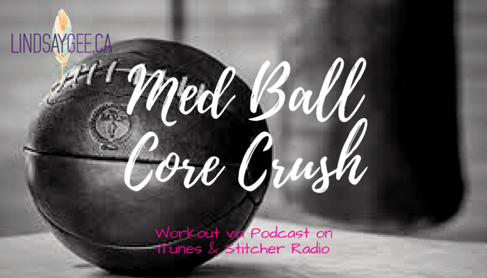 At-Home Workout: Med Ball Core Crush