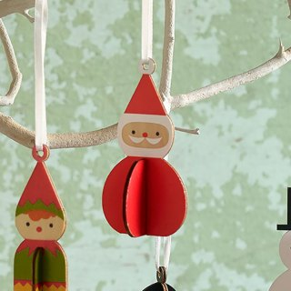 Hanging Father Christmas Decoration