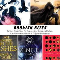 Twitter Goes Crazy For Ronan, New Renee and Sabaa, Publication for Zenith & A Magnus Short Story {Bookish Bites}
