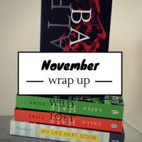 Monthly Wrap Up: November 2016