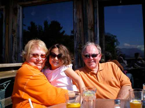 My Parents with My Niece Anne Shelton (And No They Aren't Tennessee Fans)