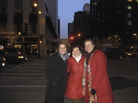 Margaret, Sarah, and I - Chicago 2010