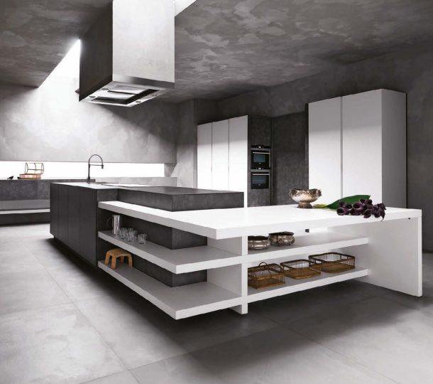 Una penisola in cucina lineatre arredamenti for Linea casa arredamenti