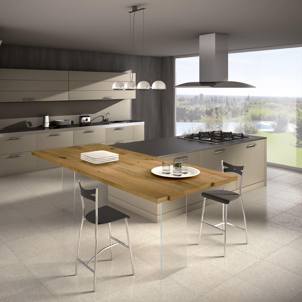 Quale top in cucina il piano in legno lineatre arredamenti - Top piano cucina ...