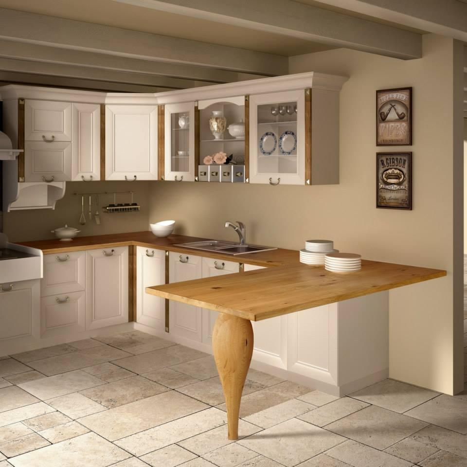 Quale top in cucina il piano in legno lineatre arredamenti - Piano cucina in legno ...