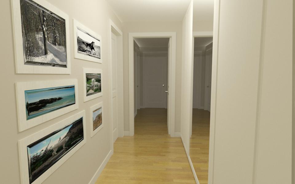 Come arredare un corridoio lineatre arredamenti - Mobili da corridoio ...