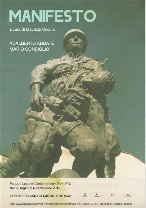 Manifesto: Adalberto Abbate e Mario Consiglio