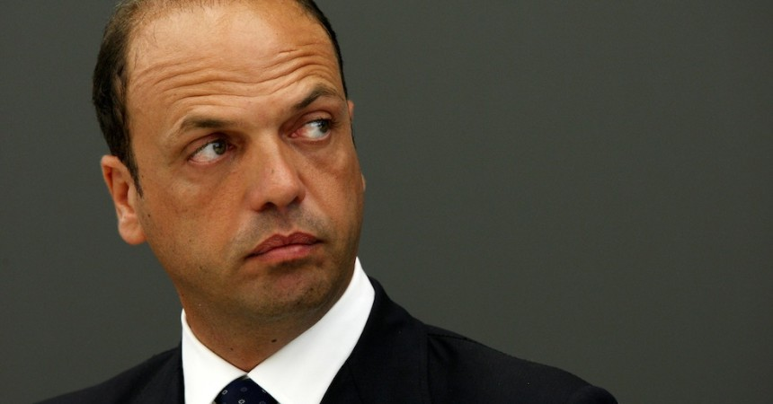 MILAN, ITALY - JULY 30:  Angelino Alfano, Minister of Justice, attends a meeting at Pirelli Tower on July 30, 2008 in Milan, Italy. The minister took part a discussion regarding the construction of a new citadel of justice in Milan.  (Photo by Vittorio Zunino Celotto/Getty Images)