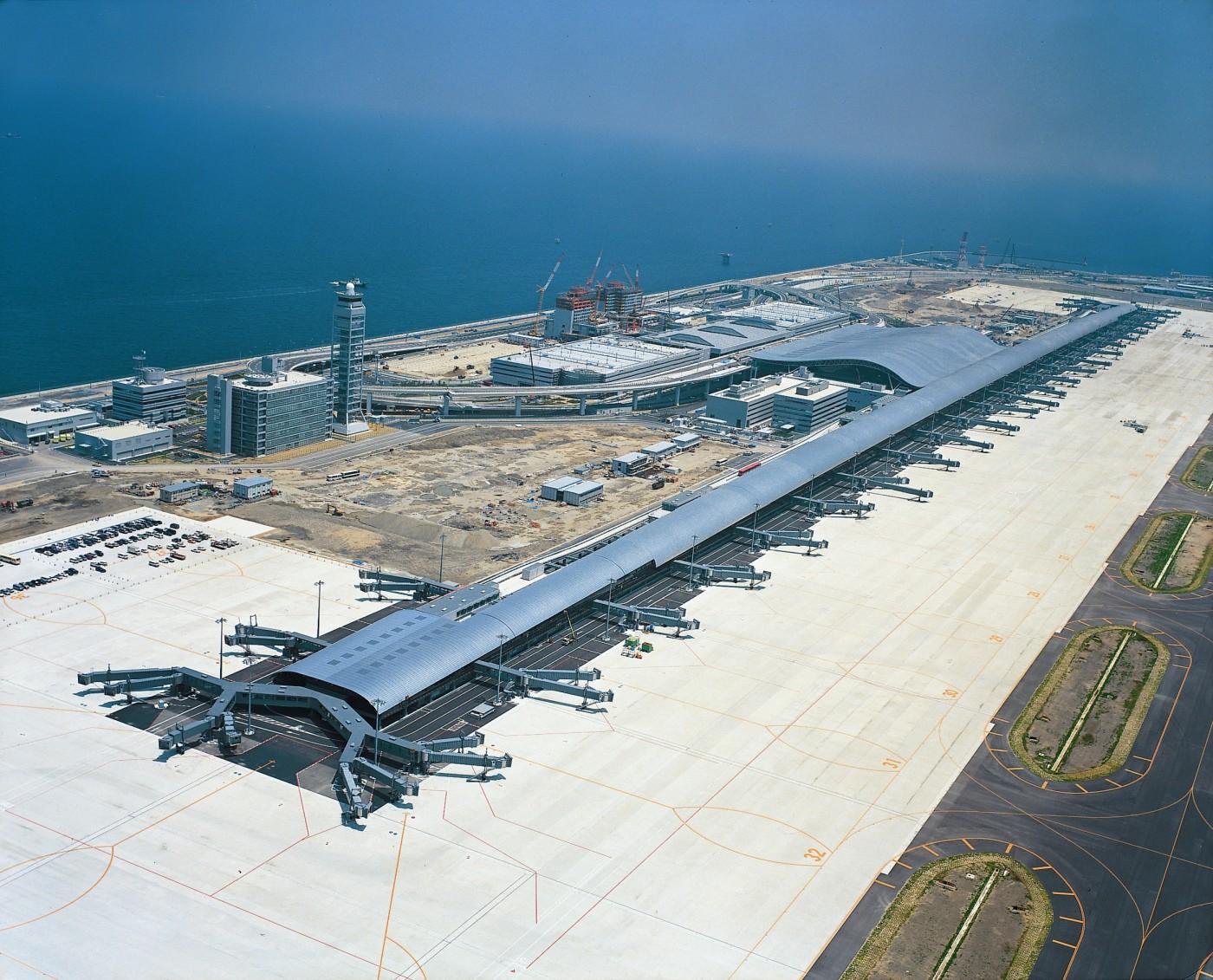 Aeroporto Osaka Renzo Piano : As obras de renzo piano da line arquitetura