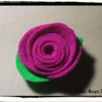 Simple and Beautiful Felt Roses (No Sewing Required)