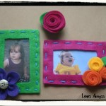 Felt Photo Frame Magnets and Felt Flower Magnets