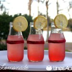 Delicious Homemade Pink Lemonade