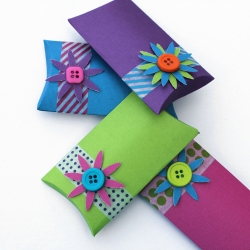 Make Your Own Pillow Boxes