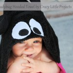 How to make a Ladybug Hooded Towel (Guest Post)