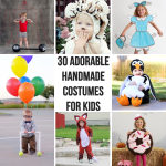 30 Cutest Handmade Costumes for Kids