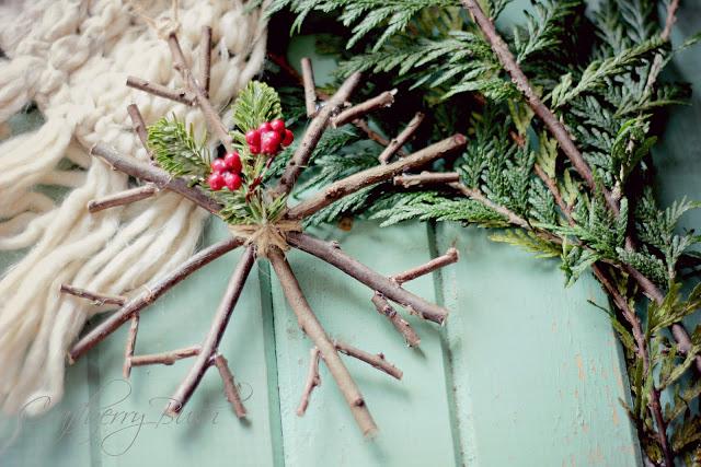 Rustic Twig Ornaments